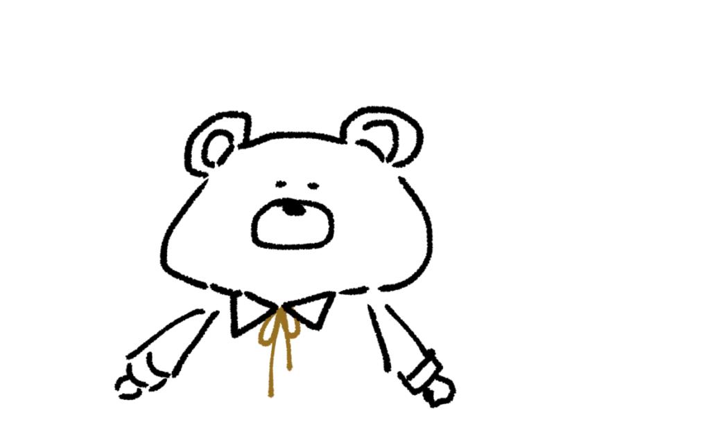 【携帯】動物編2!ゆるい絵の簡単な描き方【イラスト】