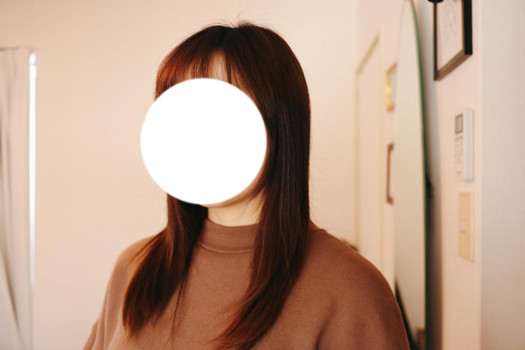 二年でどれくらい髪が伸びるのか、2月。【15ヵ月目】