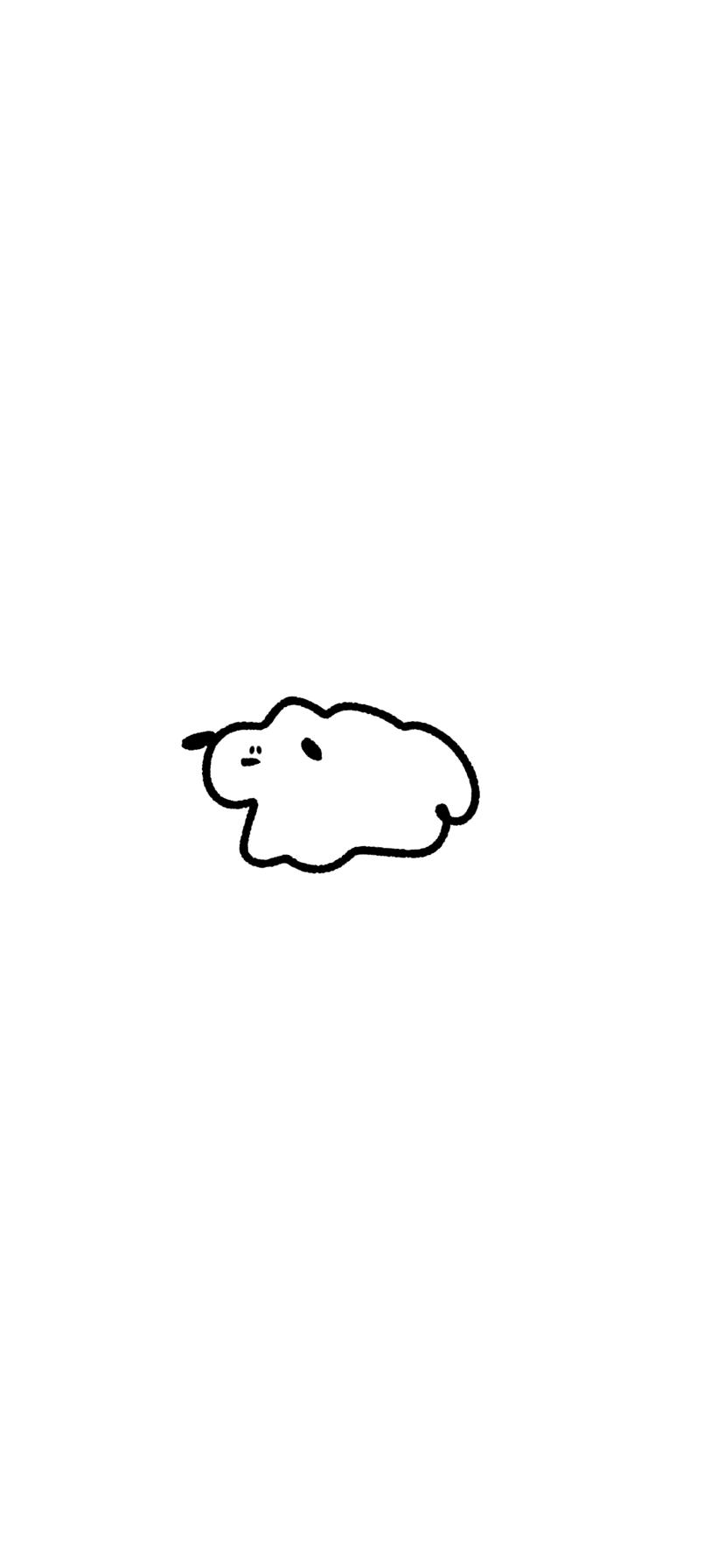 壁紙犬イラスト