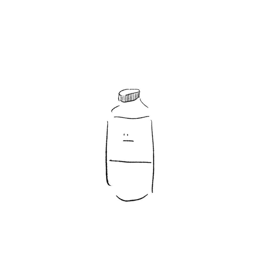 フリー素材 日用品さんペットボトル